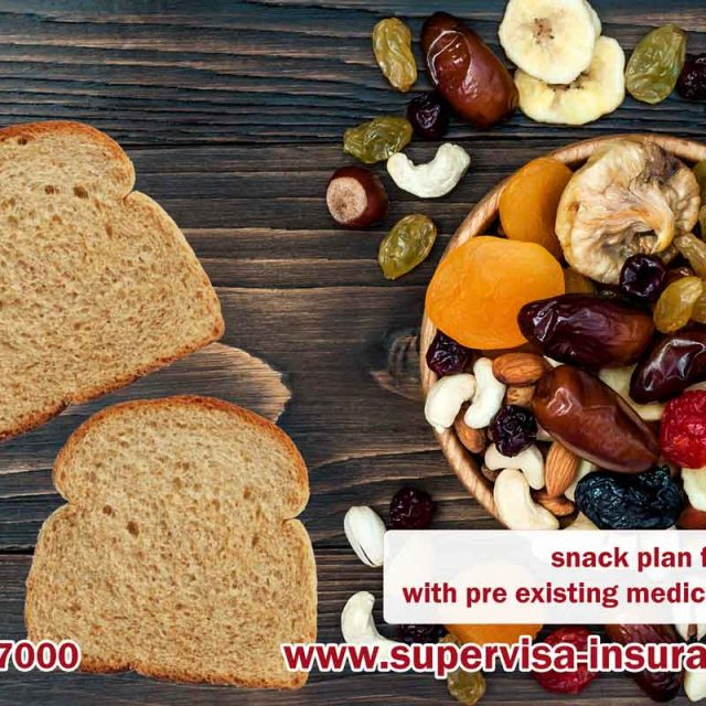 How to pack snacks for the travelling with pre existing medical conditions