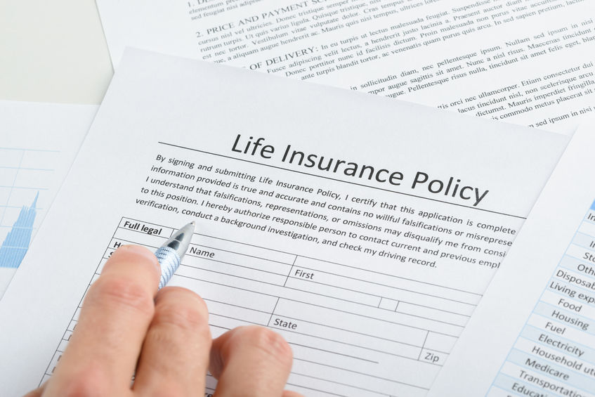 life-insurance policy application form